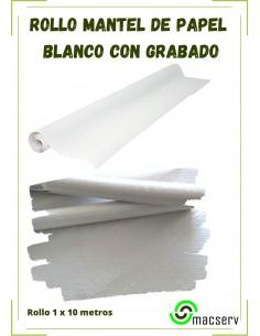 Rollo Mantel Papel Blanco