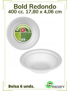 Bold redondo  Biodegradable...