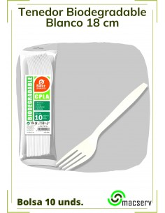 Tenedor Blanco...